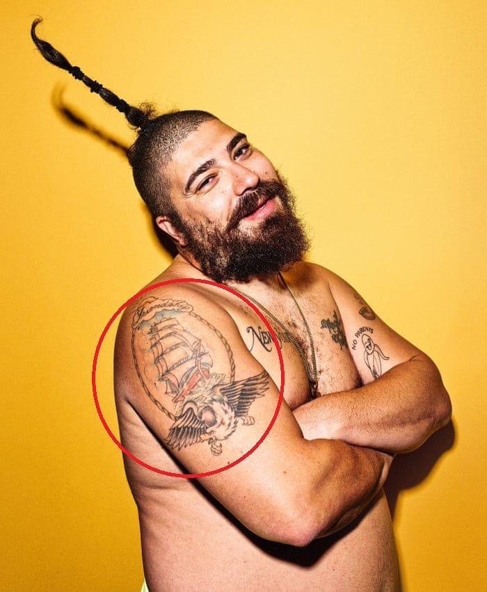 Joshua Ostrovsky-The Fat Jewish-Friendship Tattoo