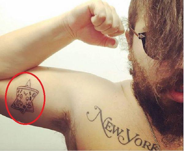 Joshua Ostrovsky-The Fat Jewish-Jewish Star Tattoo