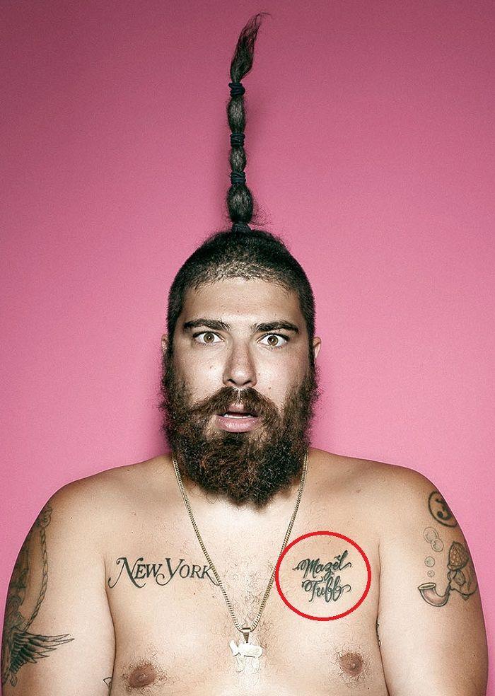 Joshua Ostrovsky-The Fat Jewish-Mazel Tuff Tattoo