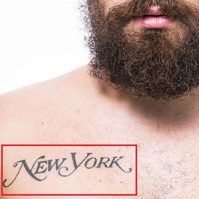 Joshua Ostrovsky-The Fat Jewish-NEW YORK Tattoo