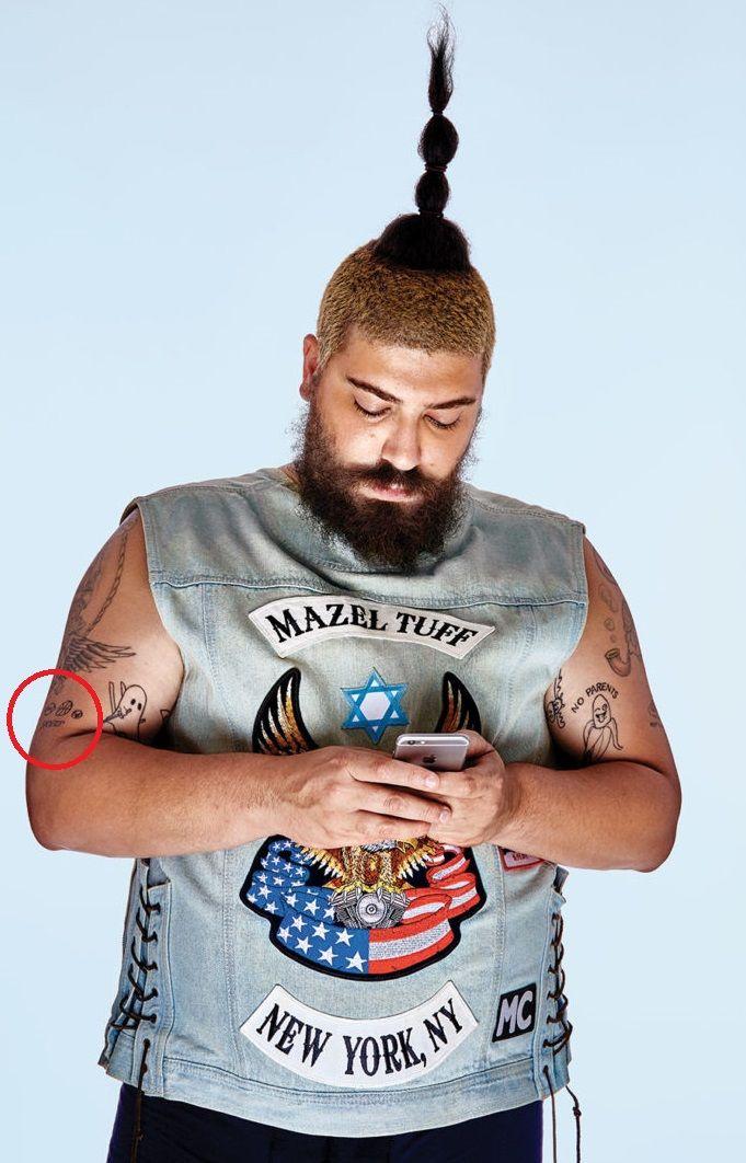 Joshua Ostrovsky-The Fat Jewish-SPORTS Tattoo