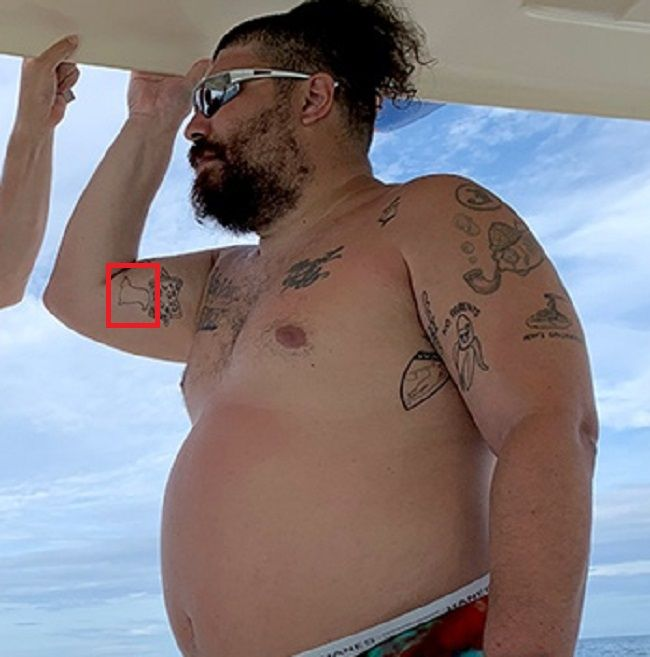 Joshua Ostrovsky-The Fat Jewish-Tattoo on arm