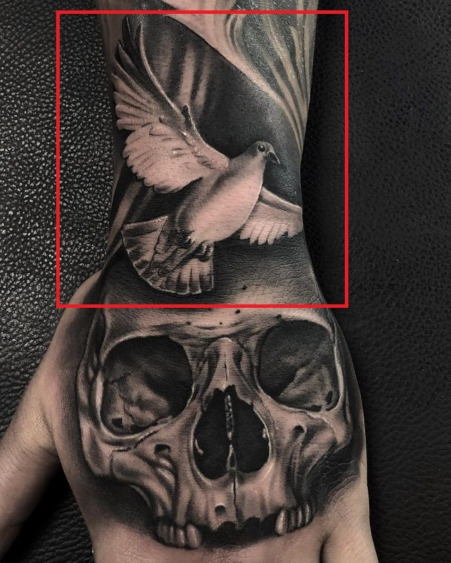Kori Sampson-Dove Tattoo