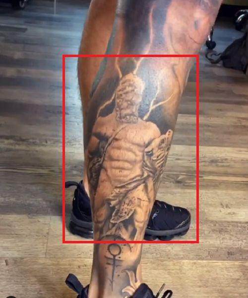 Kori Sampson-Hercules Tattoo
