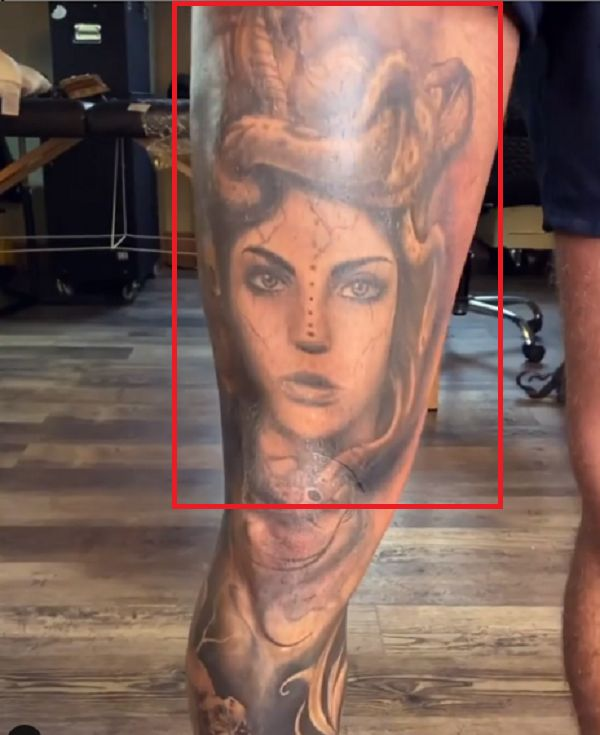 Kori Sampson-Medusa Tattoo