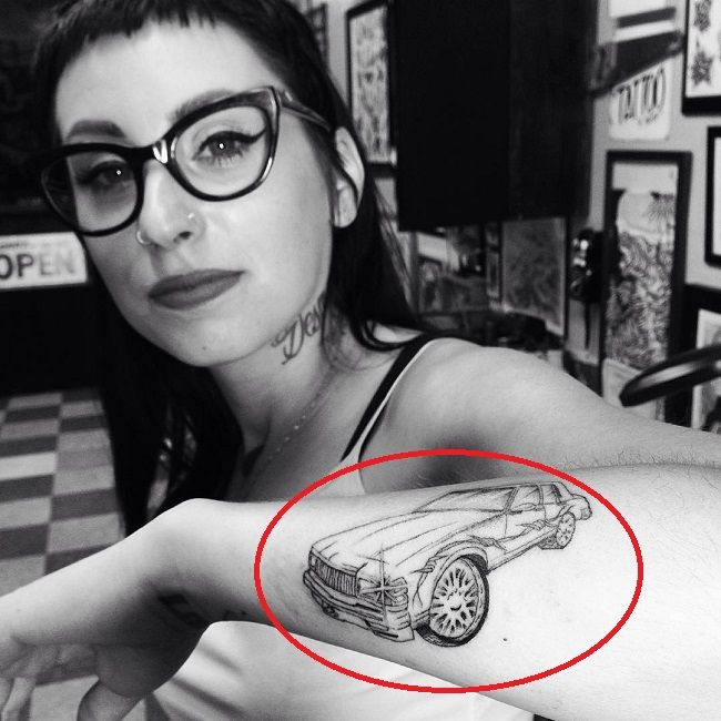 Kreayshawn-Car Tattoo
