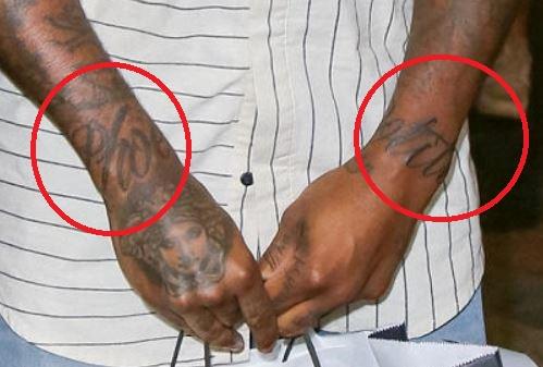 Lloyd Polite Wrist Tattoo