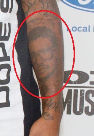 Lloyd Portrait on Left Arm