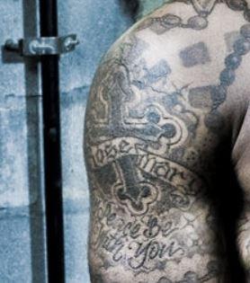Lloyd ROSE MARY Tattoo