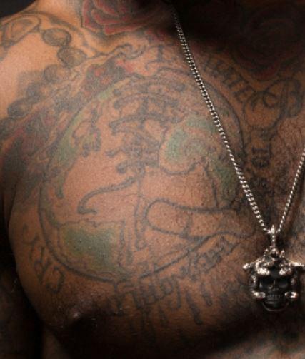Lloyd Right Pec Tattoo