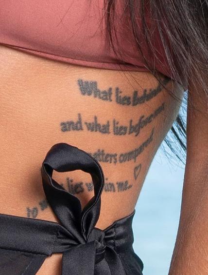 Lydia Clyma-Tattoo