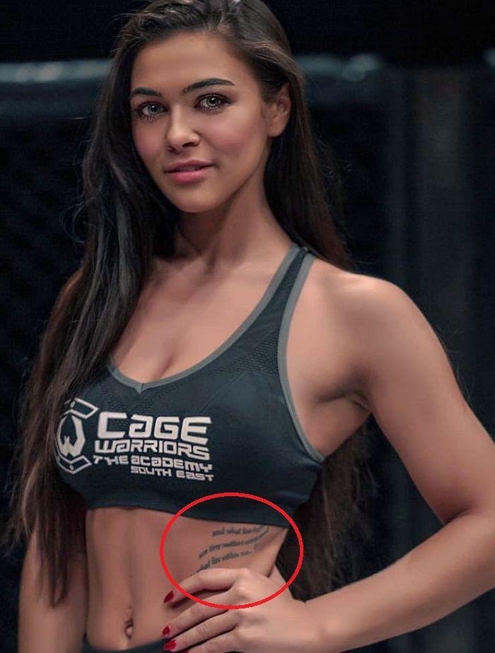 Lydia Clyma-Unidentified Tattoo