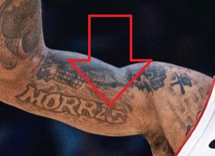 Marcus MORRIS Tattoo
