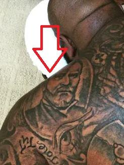 Rick George Bush Tattoo