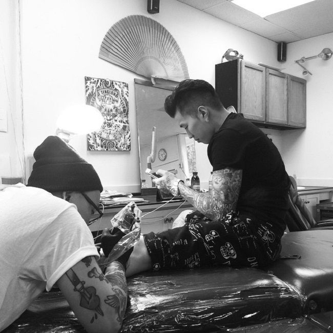 jay park-angel tattoo-eddie lee