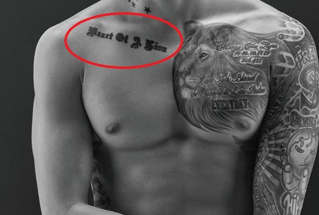 jay park-heart of a lion tattoo