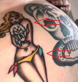 Action Bronson girl dog tattoo