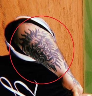 Action Bronson lion tattoo