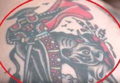 Action Bronson matador tattoo