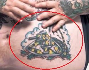 Action Bronson tank tattoo