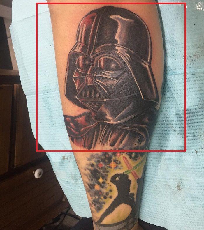 Adam Sperandio-Darth Vader-Star Wars-Tattoo