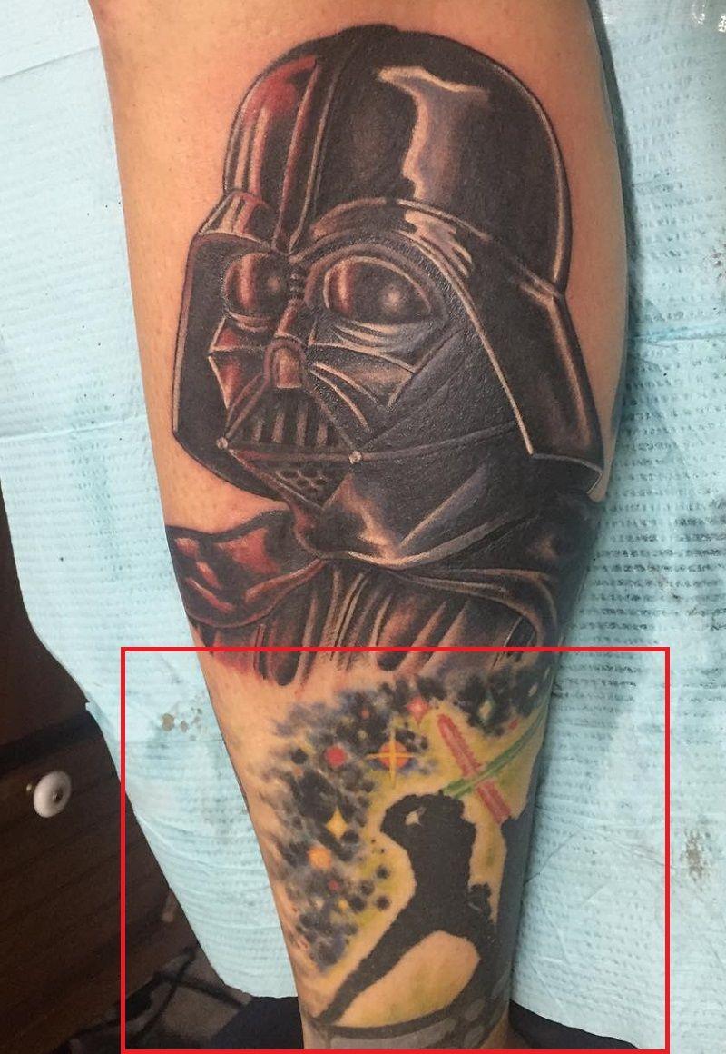 Adam Sperandio-Luke Skywalker Tattoo