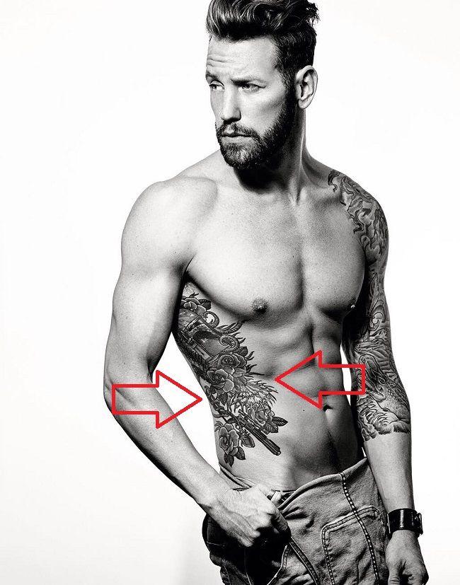 Adam Sperandio-Star War Tattoo