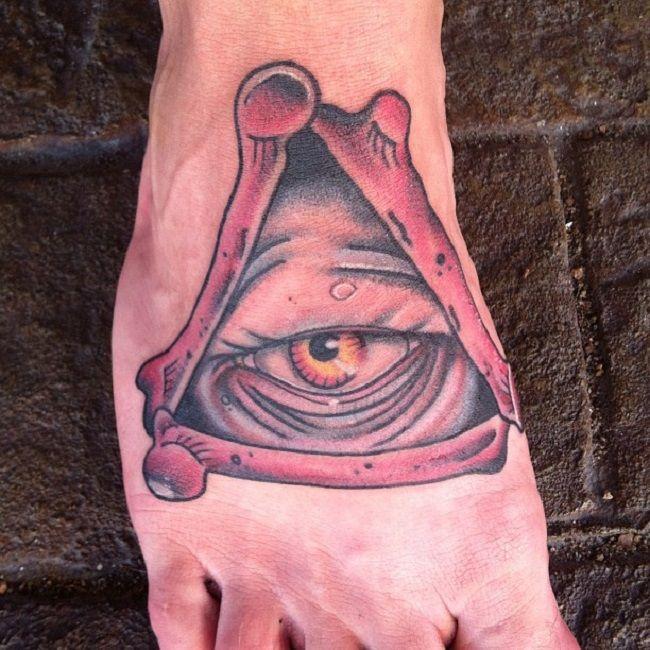 Adam Sperandio-Star Wars Illuminati Tattoo