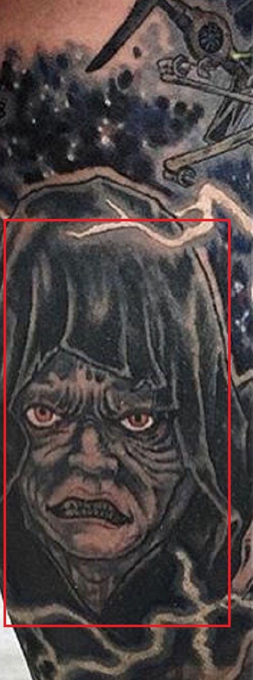 Adam Sperandio-The Emperor-Star Wars-Tattoo