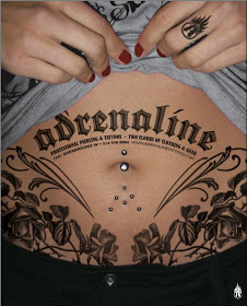 Adrenaline Tattoo Designs
