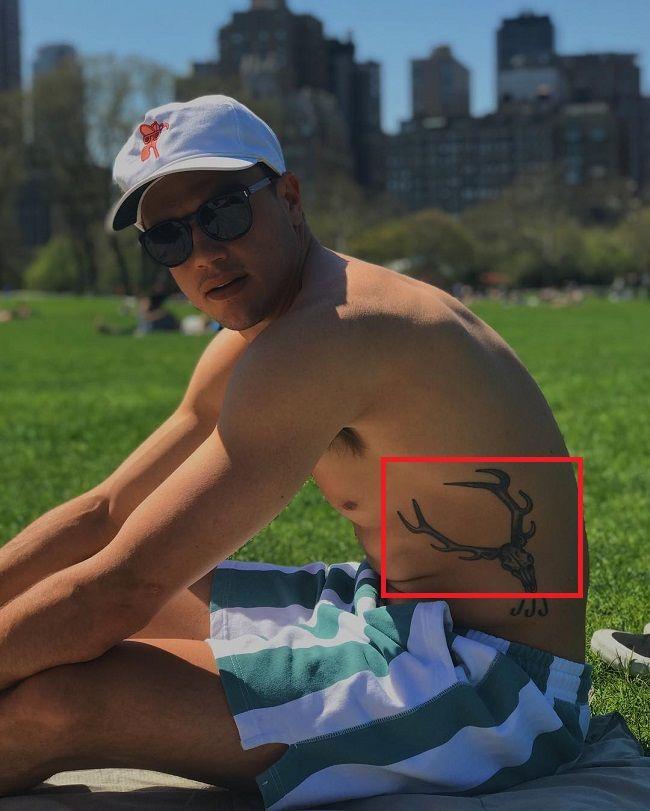 Bennett Jonas-Skull of Antler of a n Elk Tattoo