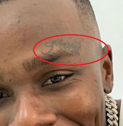 DaBaby Music Tattoo