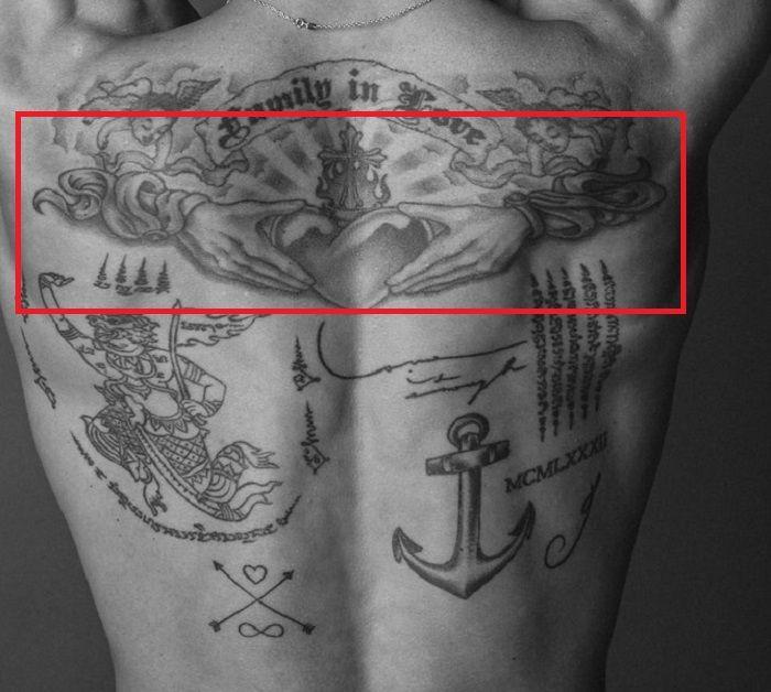 Diego Miguel-Irish Claddagh Tattoo