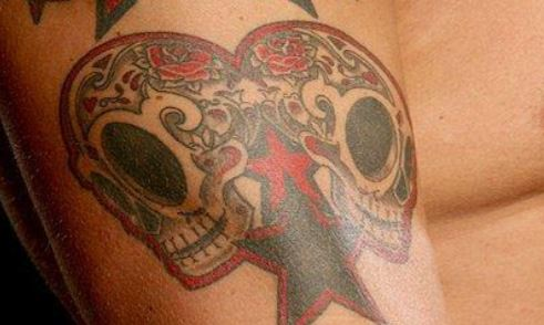 Edge Skull Tattoo
