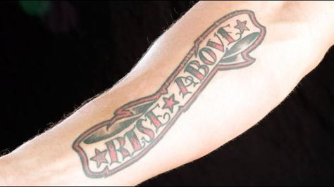 Edge right forearm tattoo