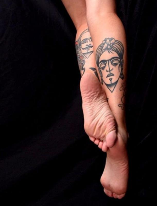 Frida Kahlo Tattoos
