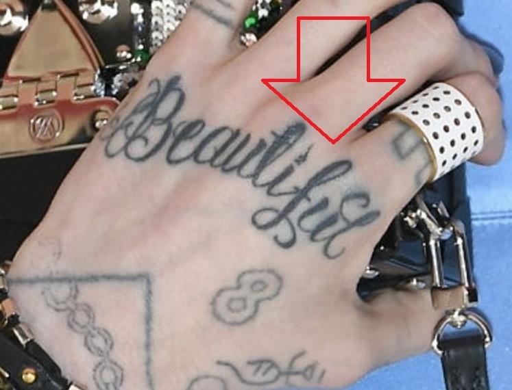 Grimes Beautiful Tattoo