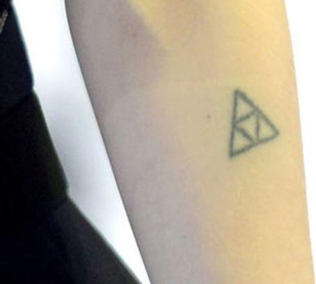 Grimes Triangle Tattoo