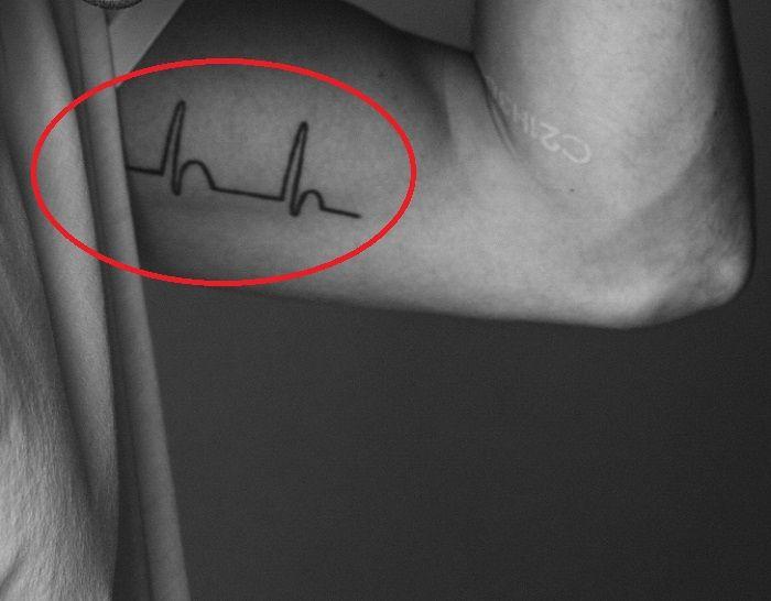 Jacob Riley-Heartline Tattoo