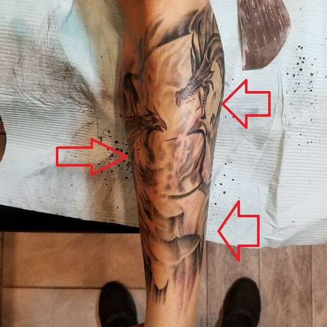 James Delury-Dragon Tattoo