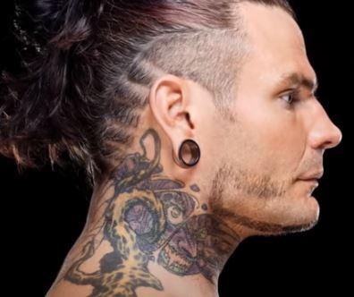 Jeff Neck Tattoo