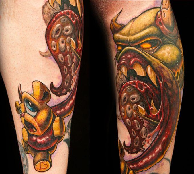 Jeff Octopus Tattoo