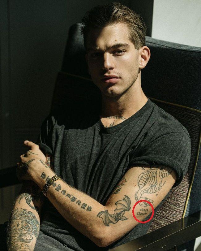 Jeremy Ruehlemann-AVADA KEDAVRA Tattoo