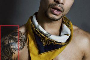 Jonathan Santos-Open Mouth Skull Tattoo
