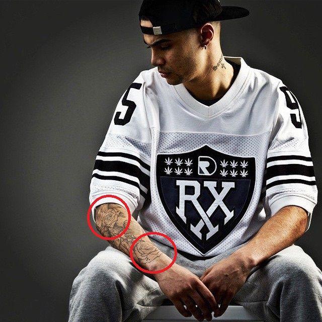 Jonathan Santos-Rose Tattoo