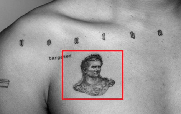 Luka Sabbat-Caligula Tattoo
