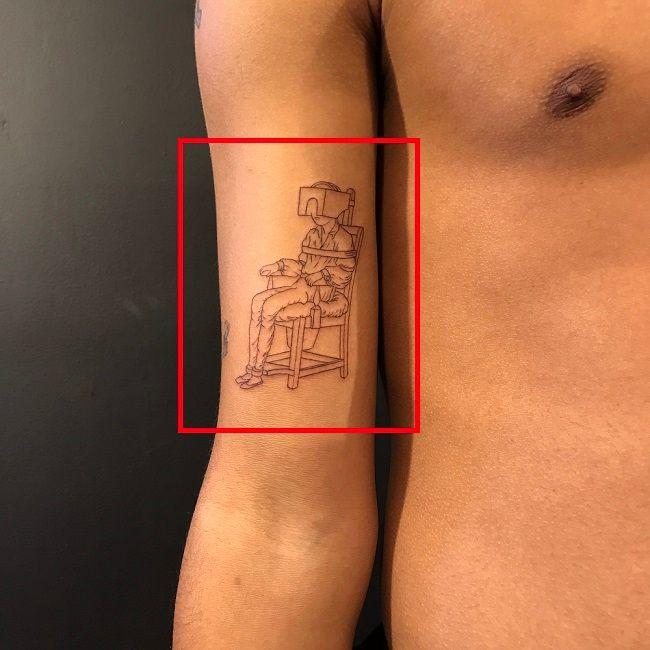Luka Sabbat-Traditional Torture Method Tattoo
