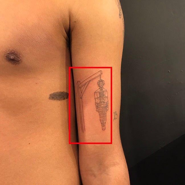 Luka Sabbat-Traditional Torture Methods Tattoo