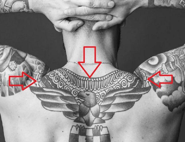 Lukas Sindicic-Mandala Pattern Tat