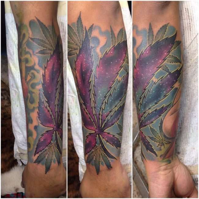 Marijuana Tattoo